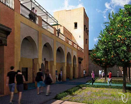 News le jardin secret marrakech a virtual walkthrough for Le jardin 3d